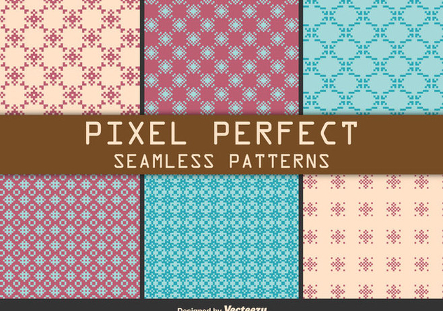 Pixel Patterns - Free vector #273997