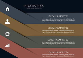 Clean infographic - Free vector #274057