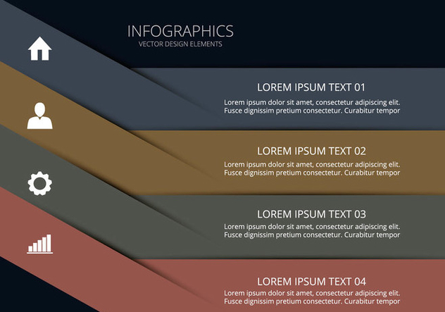 Clean infographic - Kostenloses vector #274057
