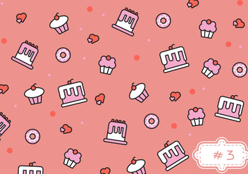 Free Bake Sale Pattern #3 - vector gratuit #274137