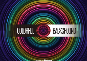 Circle colorful background - Free vector #274587