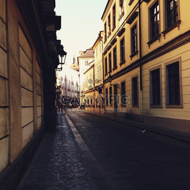 Dark street in Prague - Free image #274867
