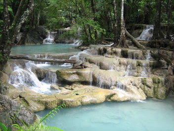 Erawan Waterfalls -- 7 Steps to Heaven - бесплатный image #276437