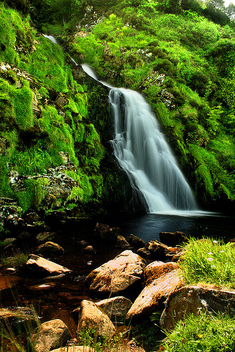 Waterfall in Donegal, Ireland - бесплатный image #277127