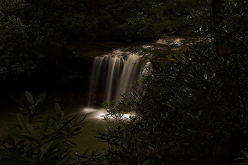 Moon-Glow Waterfalls - Free image #278447