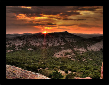 Mt. Scott's Boy and Mt. Sheridan, Wichita Mountains, Oklahoma - Free image #280457
