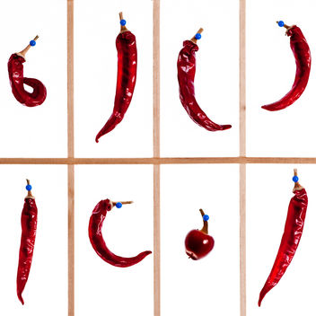 Many Chillies - Free image #284497