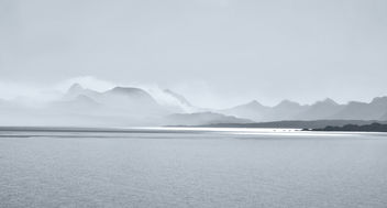 Low clouds over the mountains, Scotland - бесплатный image #285147