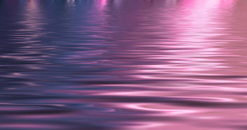 Reflections of the Sunset in the Waves of the Water - image gratuit #286317