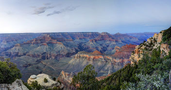 Grand Canyon National Park: Yaki Point After Sunset - image gratuit #286597