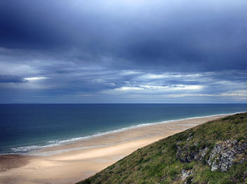 Dark Sky Over A Blue Sea - Free image #286897