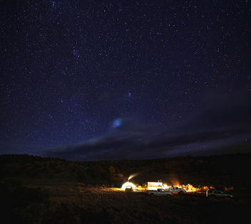 Hunt Camp Under the Stars - image gratuit #287297
