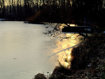 --- Sun Glow in Ice --- - Kostenloses image #287747