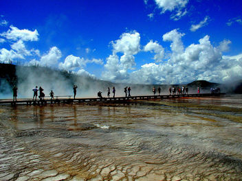 Grand Prismatic Hot Springs, Yellowstone N.P. - бесплатный image #288787