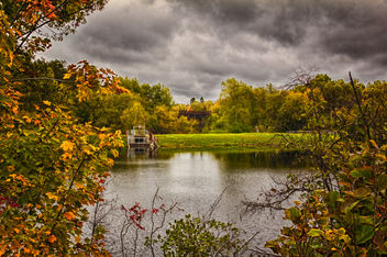 Autumn Pond - image #289617 gratis