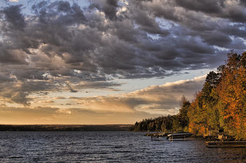 Lake Gogebic Dawn - image #289657 gratis