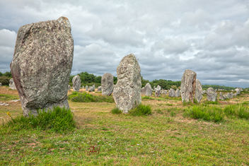 Carnac Stones - HDR - Kostenloses image #290657