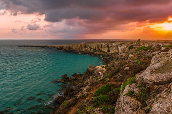 Sunrise at Favignana Island, Sicily (Italy) - бесплатный image #291097
