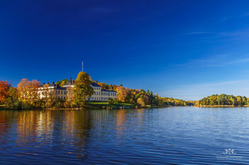 Ulriksdals Slott in Fall - Kostenloses image #291277