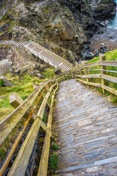 Tintagel Castle, Cornwall, United Kingdom - Kostenloses image #291647