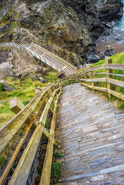 Tintagel Castle, Cornwall, United Kingdom - Free image #291647