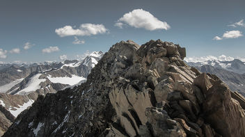 Top of the Vernagtspitze, 3.539m (IMG_0946_2) - Free image #294467