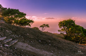Sunset at Erice, Trapani (Sicily, Italy) - бесплатный image #295937