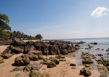 Beautiful beach on the island Koh Lanta, Thailand - бесплатный image #297437
