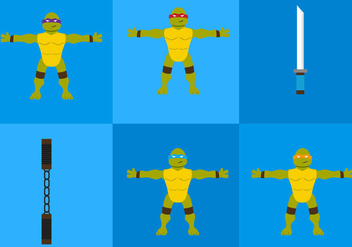 Ninja Turtles - Free vector #297667
