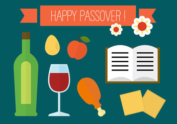 Happy Passover - Free vector #297747