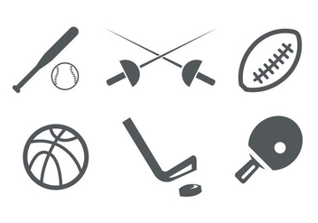 Sport Icons - Free vector #297847