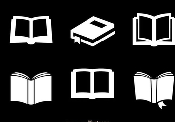 Read White Icons - Free vector #297937