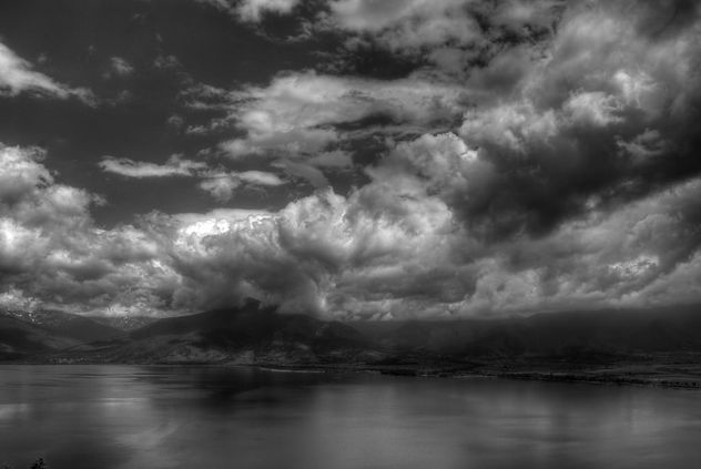 Great Prespa in black and white - бесплатный image #298517
