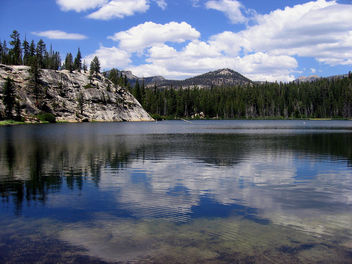 Sotcher Lake Sky, Sierra Nevada Mountains - Free image #298867