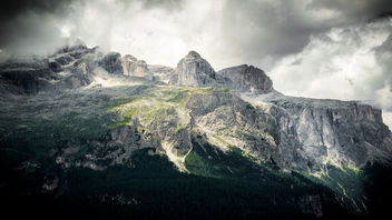 Sella group - Dolomites, Italy - Landscape photography - Free image #299957