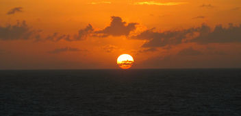 Where the Sun and Ocean Meet - image gratuit #300317