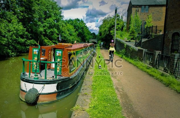 Worcester and Birmingham canal - бесплатный image #301437