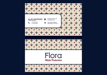 Creative Business Card - vector #301807 gratis