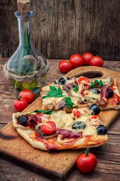 Pieces of pizza - image gratuit #302107