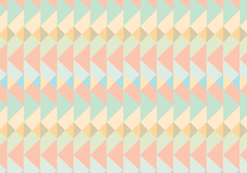 Geometric Native Pattern Background - vector gratuit #302207