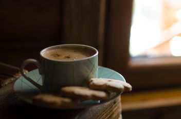 Coffee with coockies - image gratuit #302317