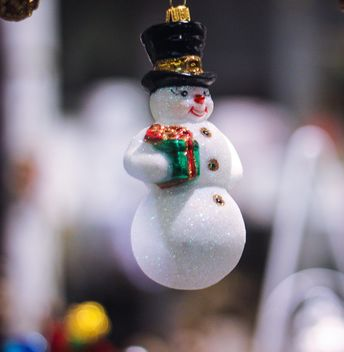 Christmas holiday snowman - бесплатный image #302367