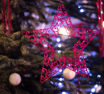 Christmas decoration star - image #302387 gratis