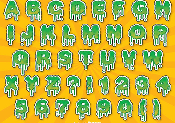Halloween Alphabet Set - vector #302647 gratis