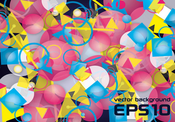 Free Colorful Abstract Vector Background - Kostenloses vector #302697