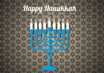 Free Happy Hanukkah Vector - бесплатный vector #302717