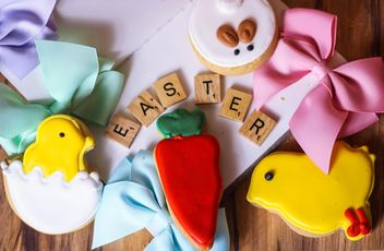 Easter holiday cookies - Free image #302767