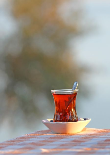 Traditional Glass of Turkish Tea - бесплатный image #302907
