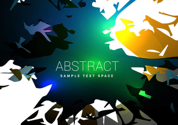 Abstract shiny shapes vector - Free vector #303127