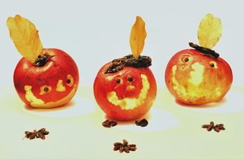 Baked apples smiling - Free image #303327